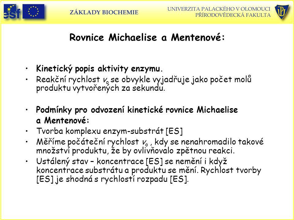 Rovnice Michaelise a Mentenové: