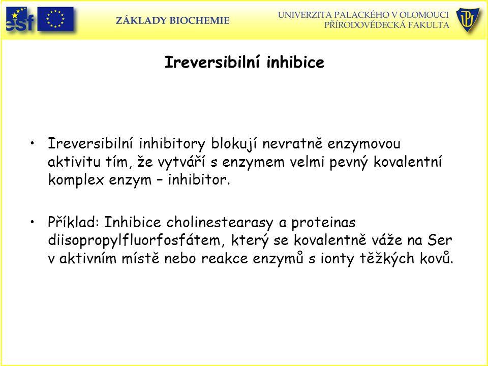 Ireversibilní inhibice