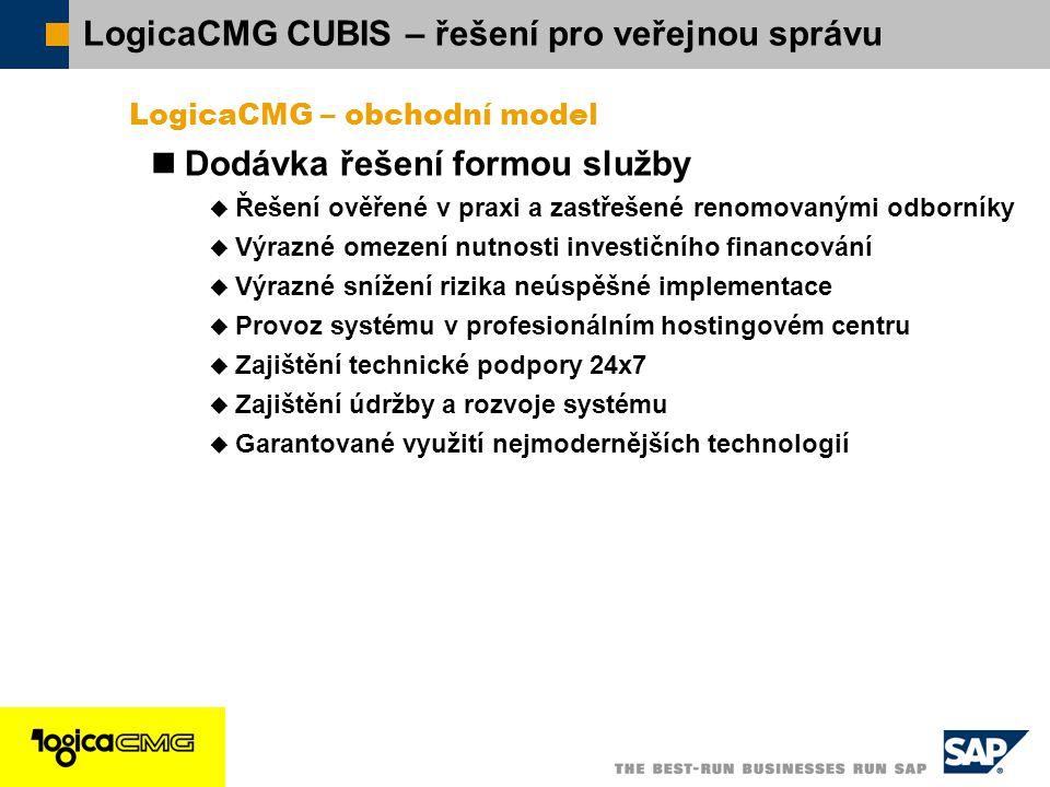 LogicaCMG CUBIS – řešení pro veřejnou správu