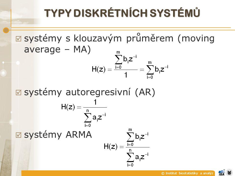 typy diskrétních systémů