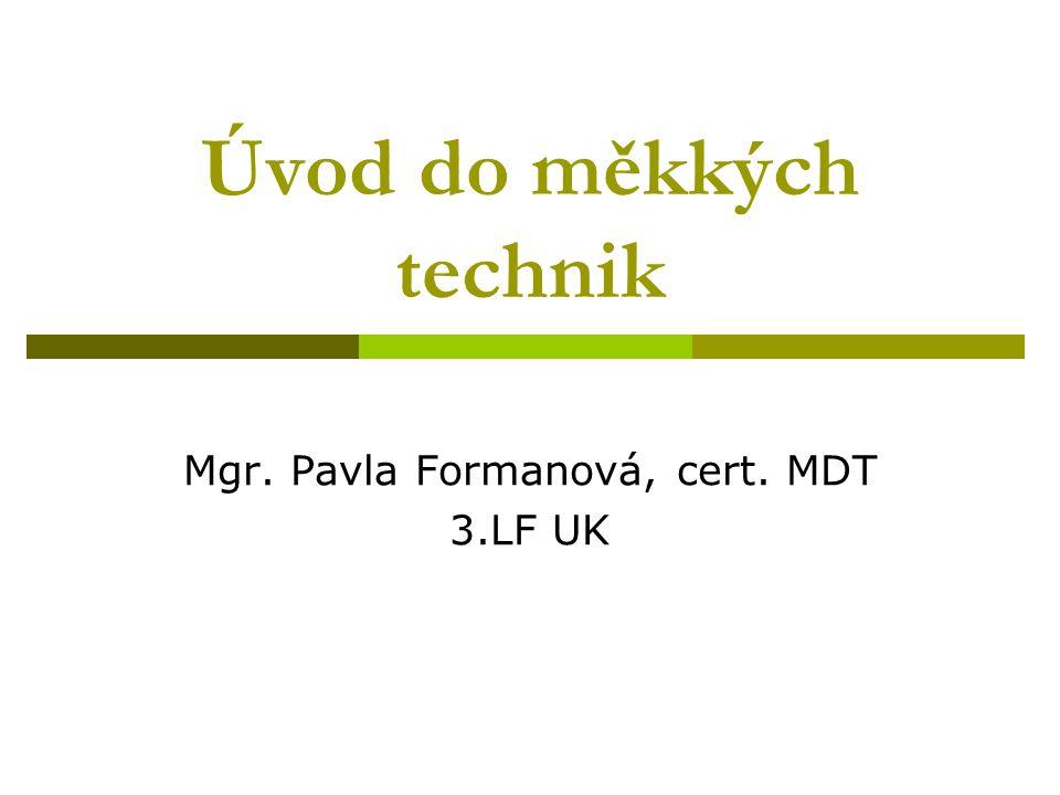 Úvod do měkkých technik
