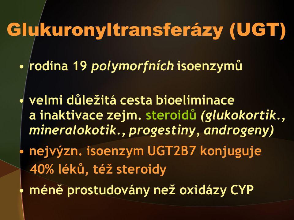Glukuronyltransferázy (UGT)