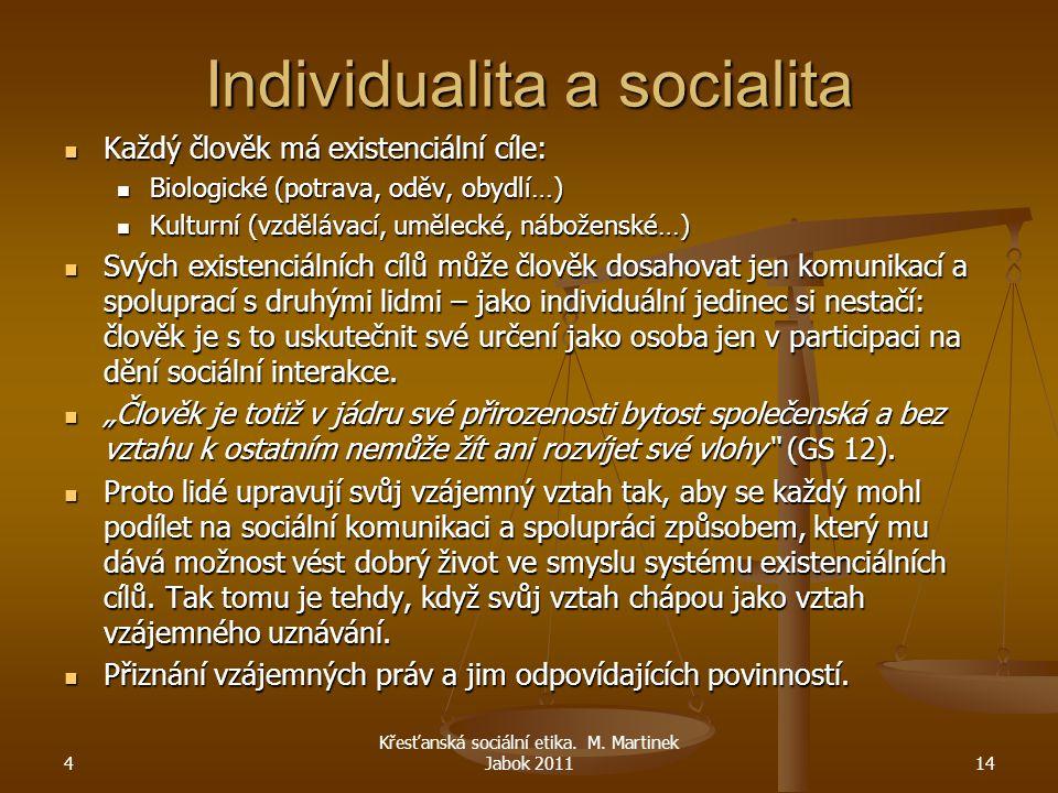 Individualita a socialita