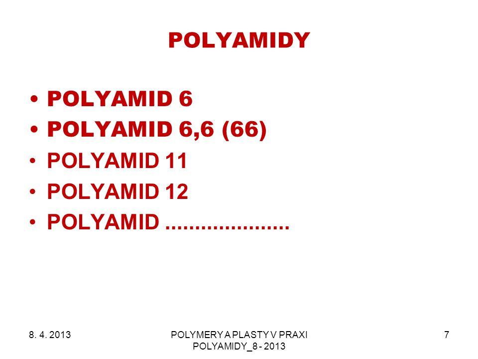 POLYMERY A PLASTY V PRAXI POLYAMIDY_8 - 2013
