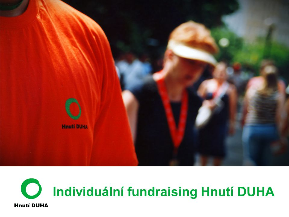 Individuální fundraising Hnutí DUHA