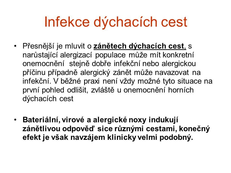 Infekce dýchacích cest