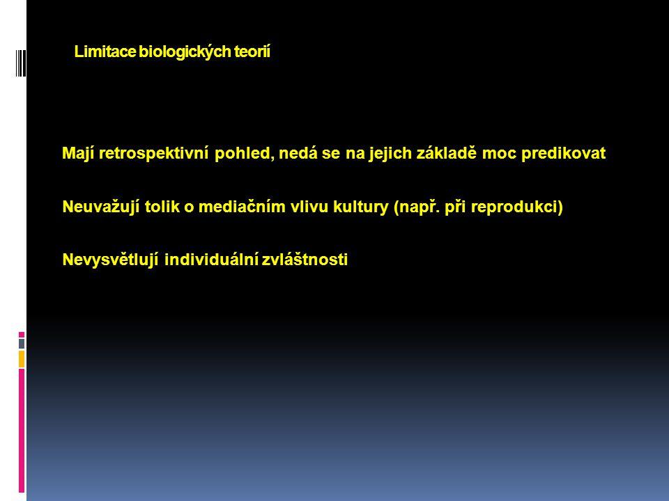 Limitace biologických teorií