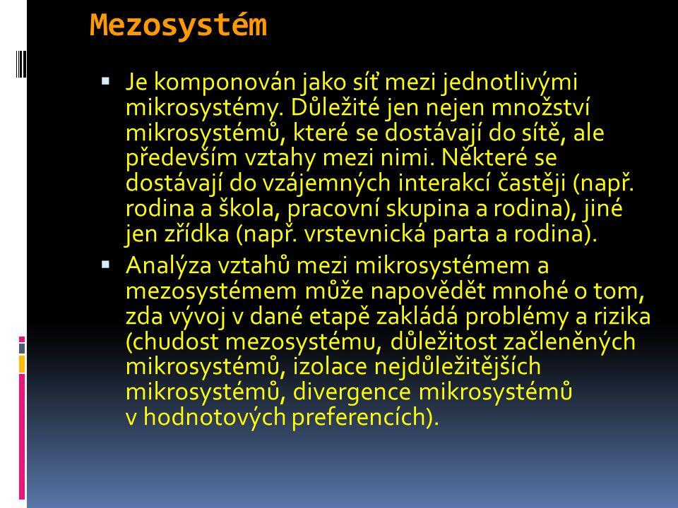 Mezosystém