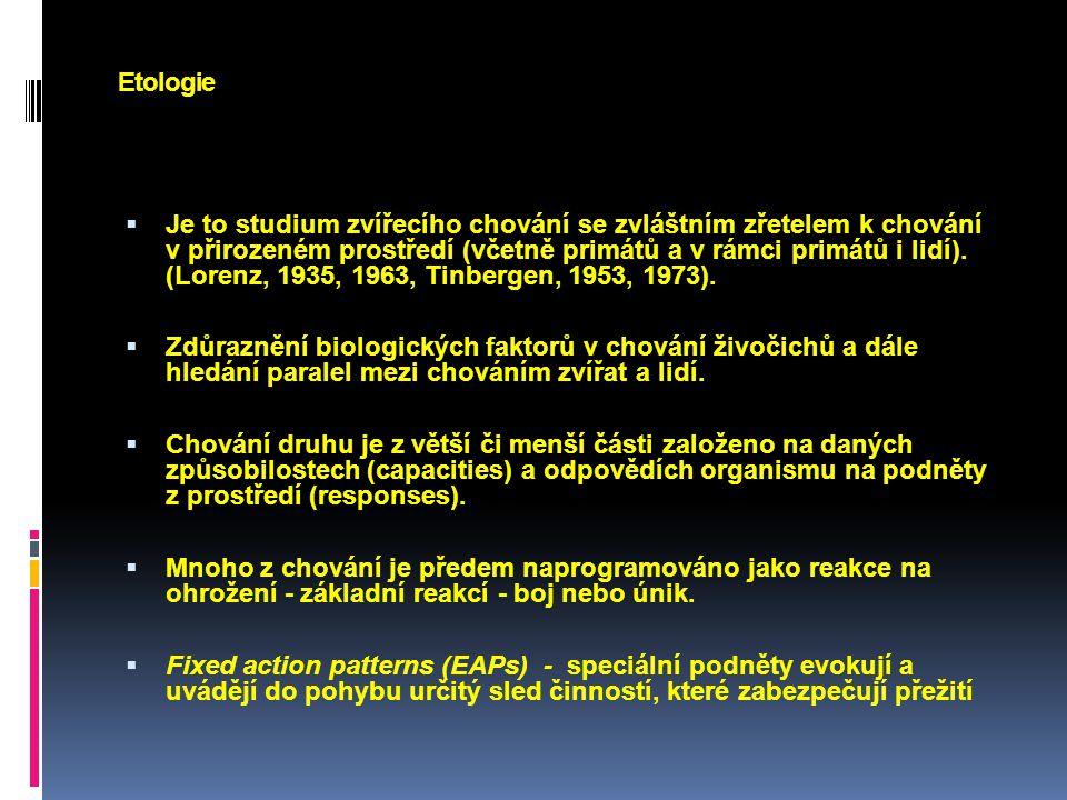 Etologie