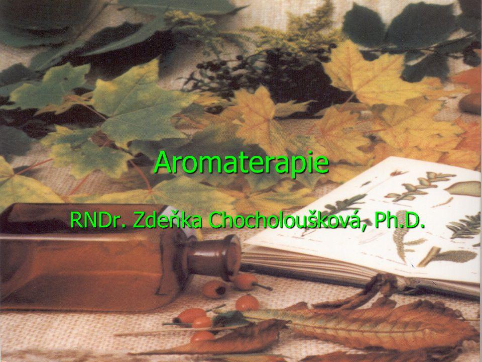 RNDr. Zdeňka Chocholoušková, Ph.D.