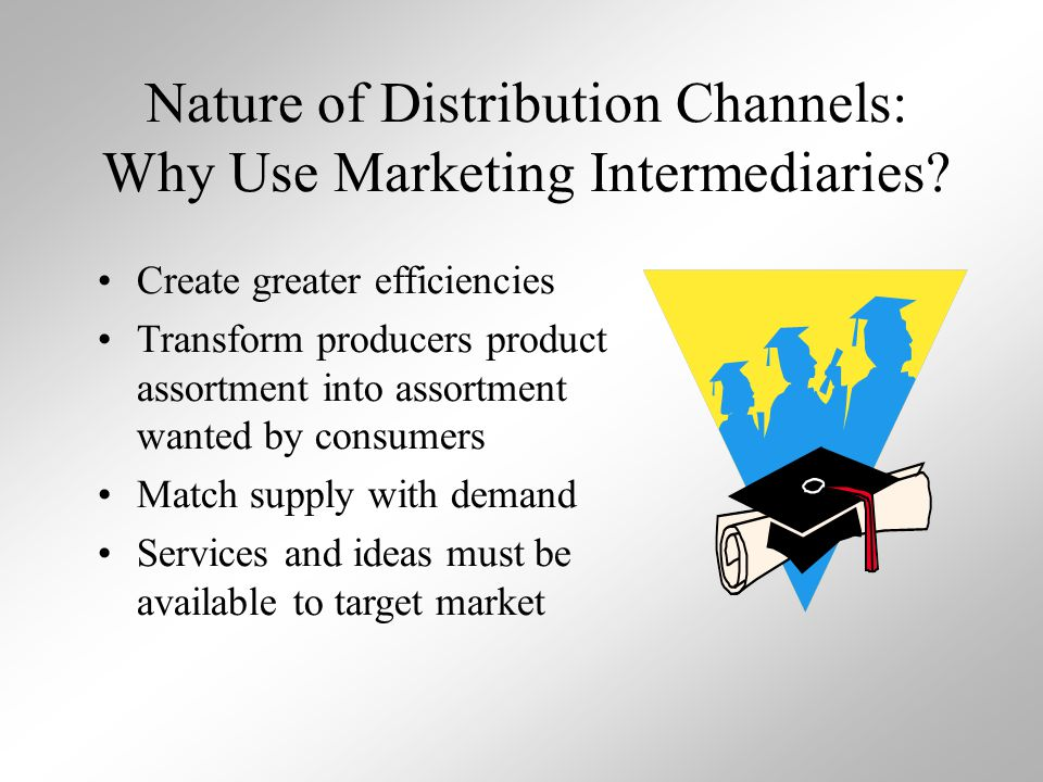 Nature of Distribution Channels: Why Use Marketing Intermediaries
