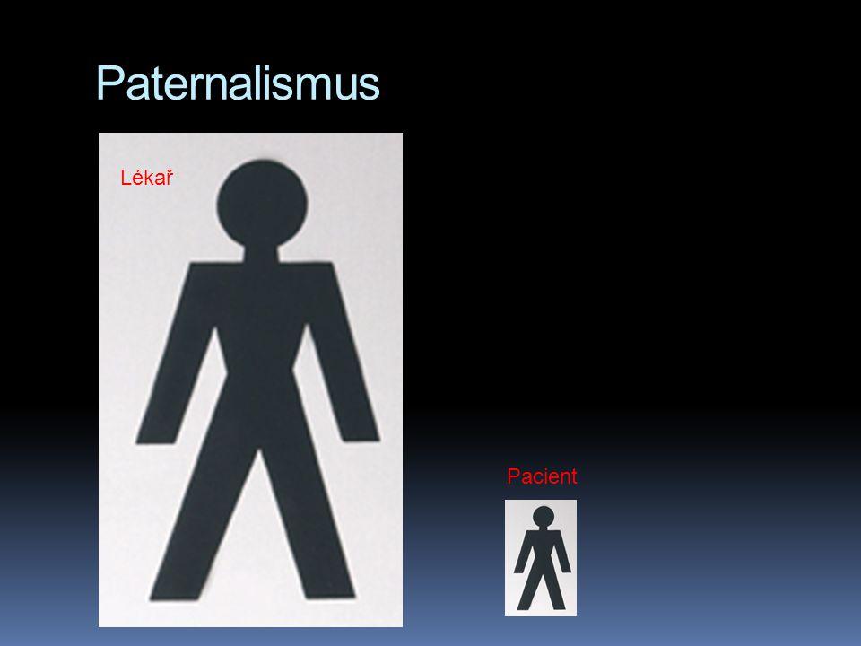 Paternalismus Lékař Pacient