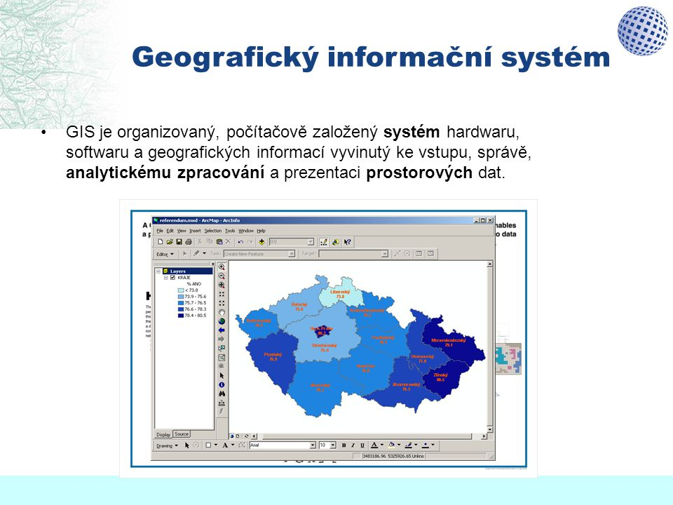Geografický informační systém