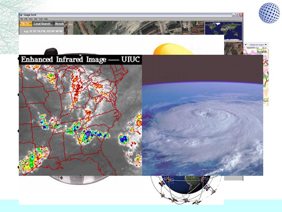 Znáte supermapy.cz Google Earth technologie GPS předpověď počasí