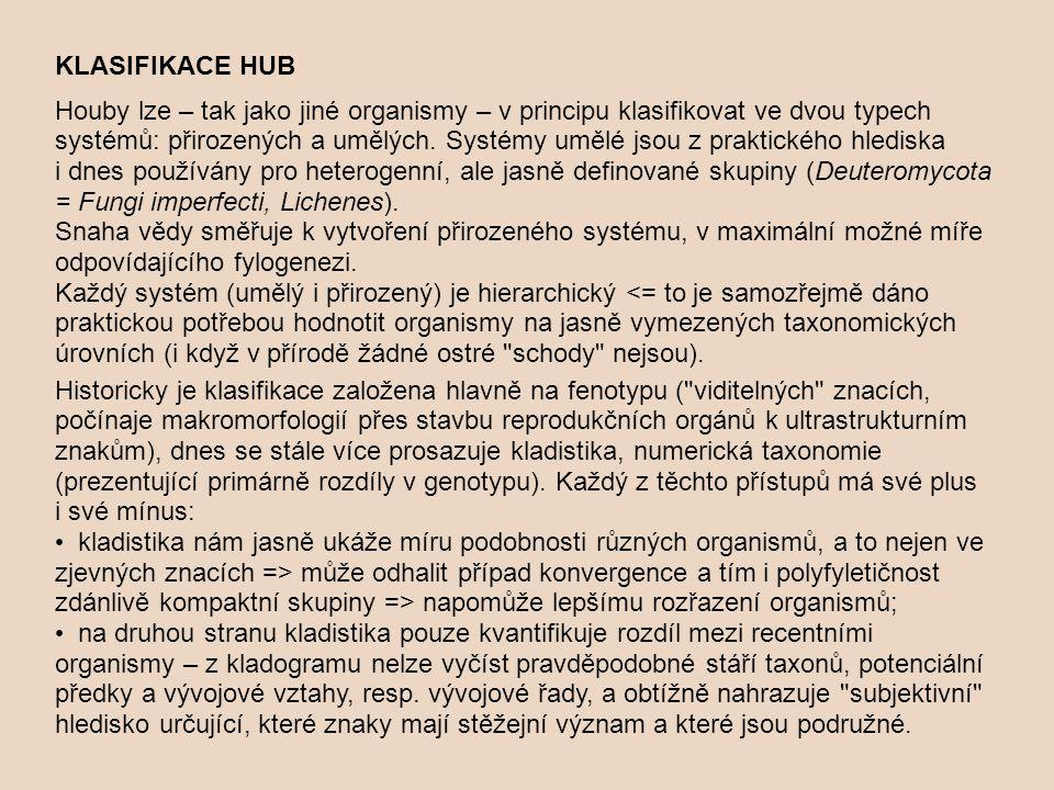 KLASIFIKACE HUB