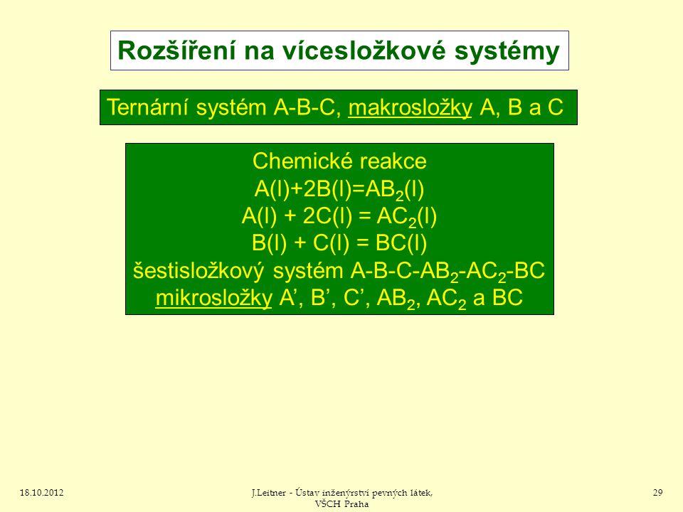 Rozšíření na vícesložkové systémy