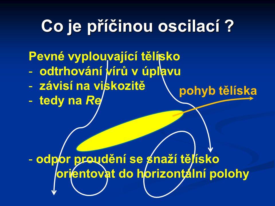 Co je příčinou oscilací