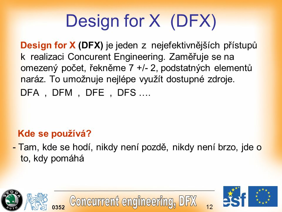 Design for X (DFX)