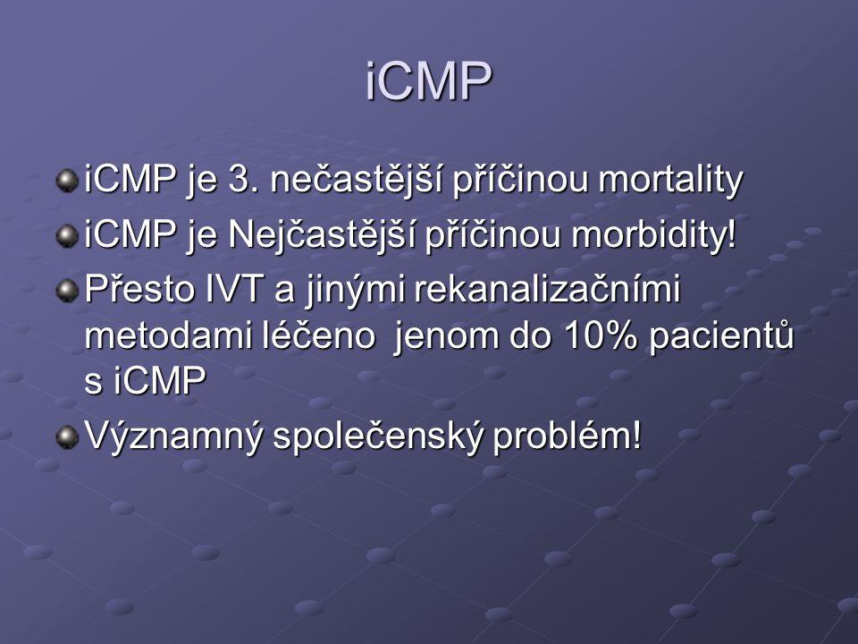 iCMP iCMP je 3. nečastější příčinou mortality