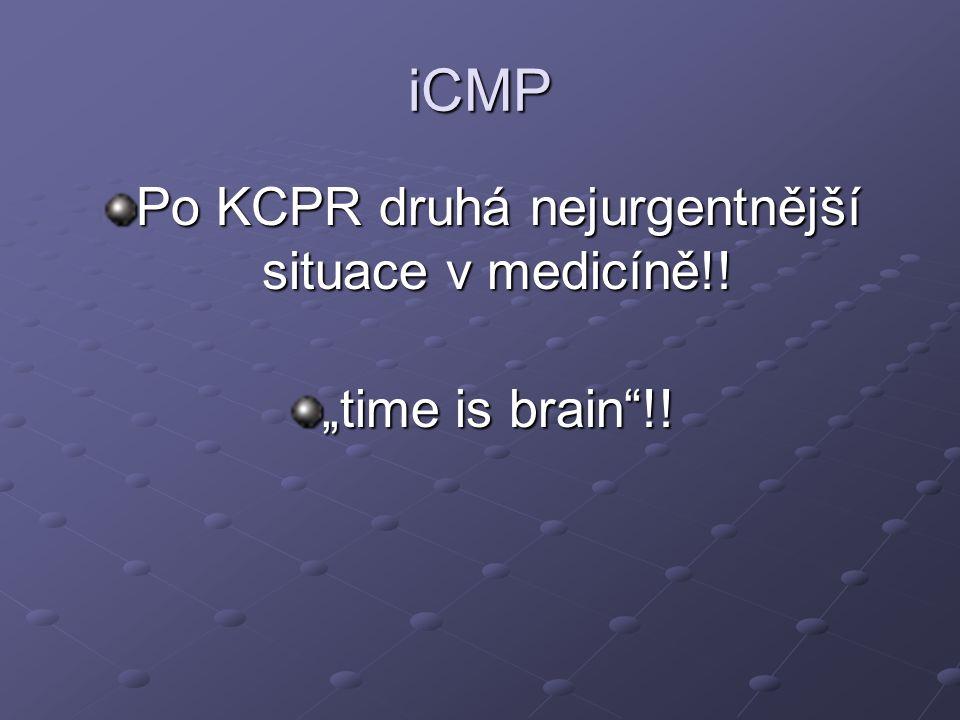 Po KCPR druhá nejurgentnější situace v medicíně!!