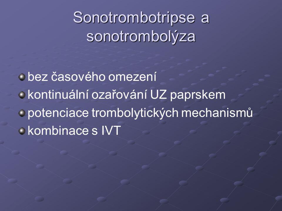 Sonotrombotripse a sonotrombolýza