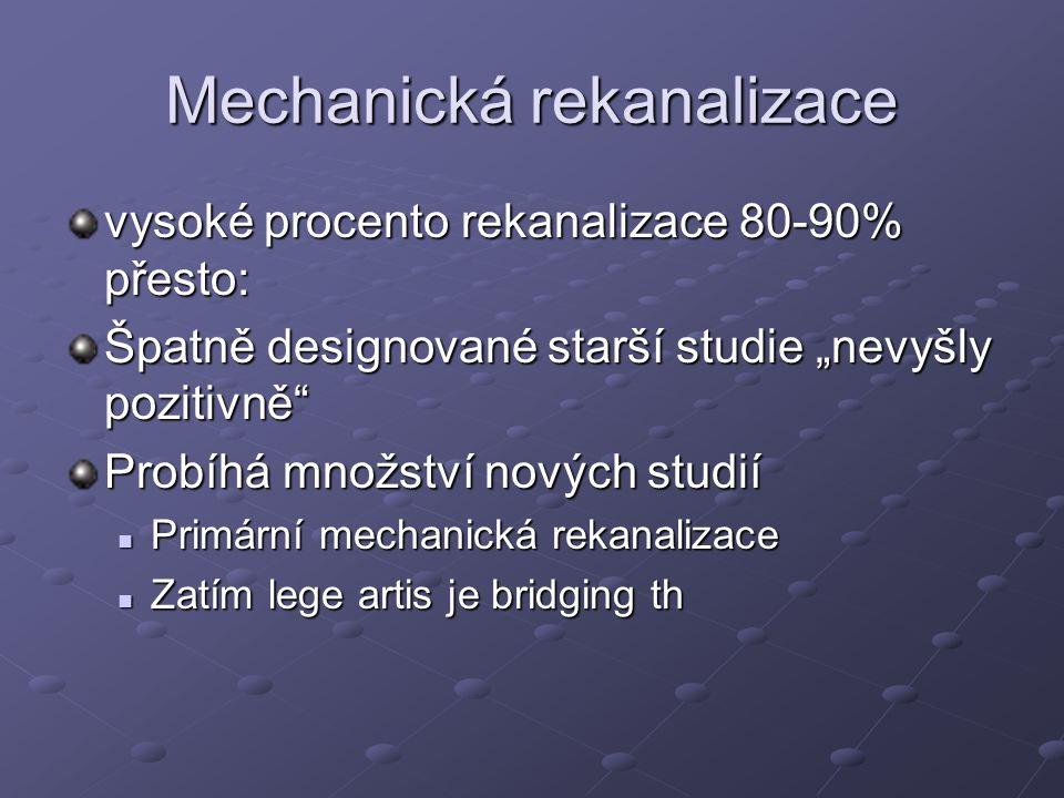 Mechanická rekanalizace