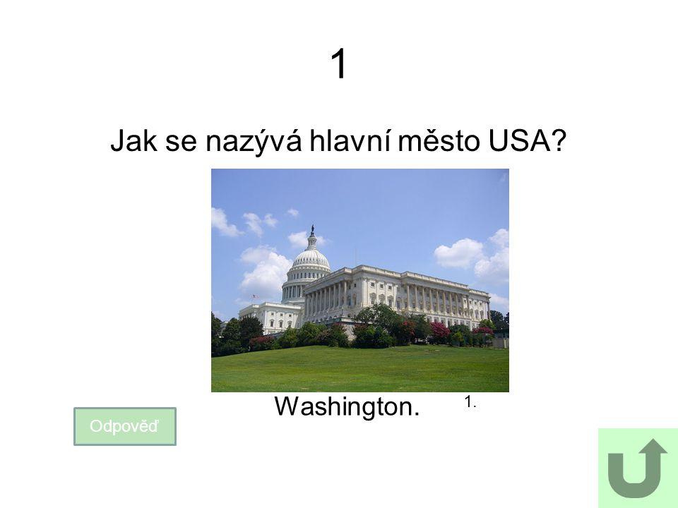 Jak se nazývá hlavní město USA