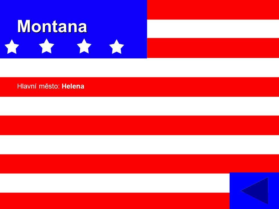 Montana Hlavní město: Helena