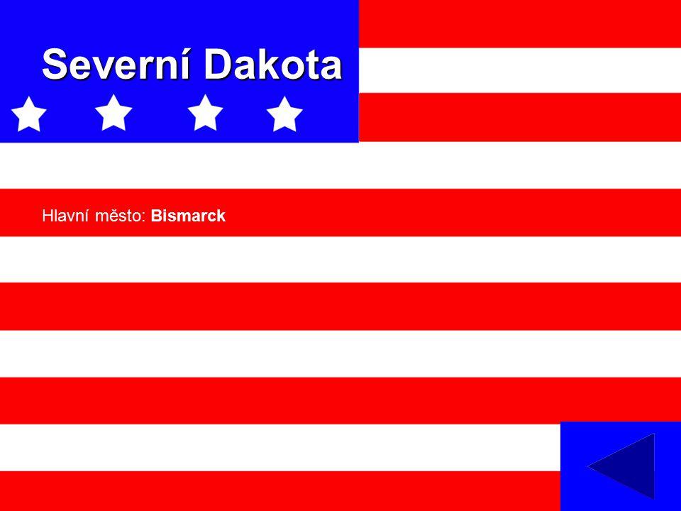Severní Dakota Hlavní město: Bismarck