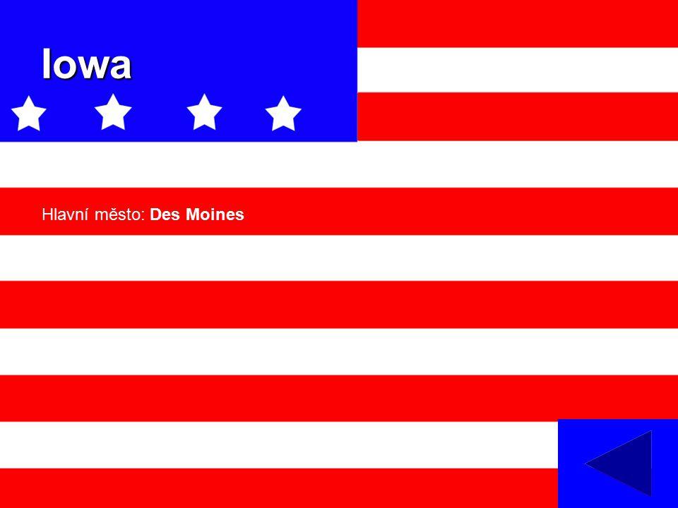 Iowa Hlavní město: Des Moines