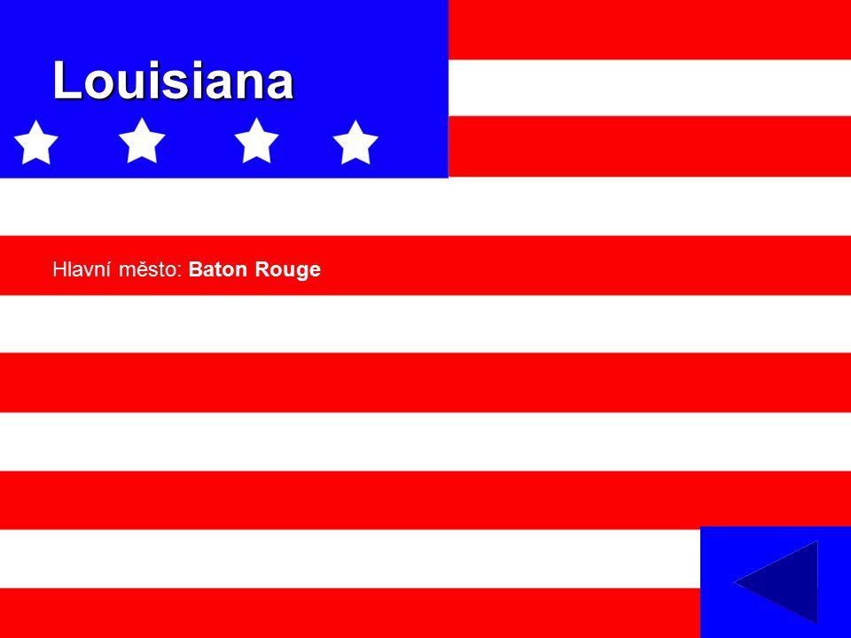 Louisiana Hlavní město: Baton Rouge