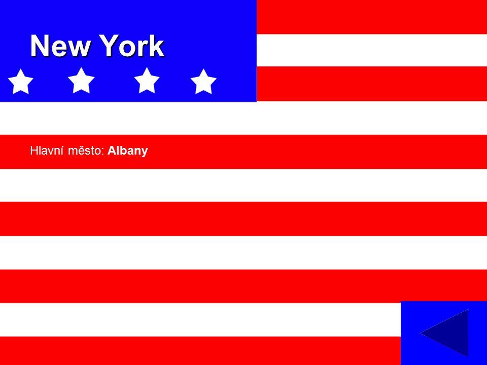 New York Hlavní město: Albany
