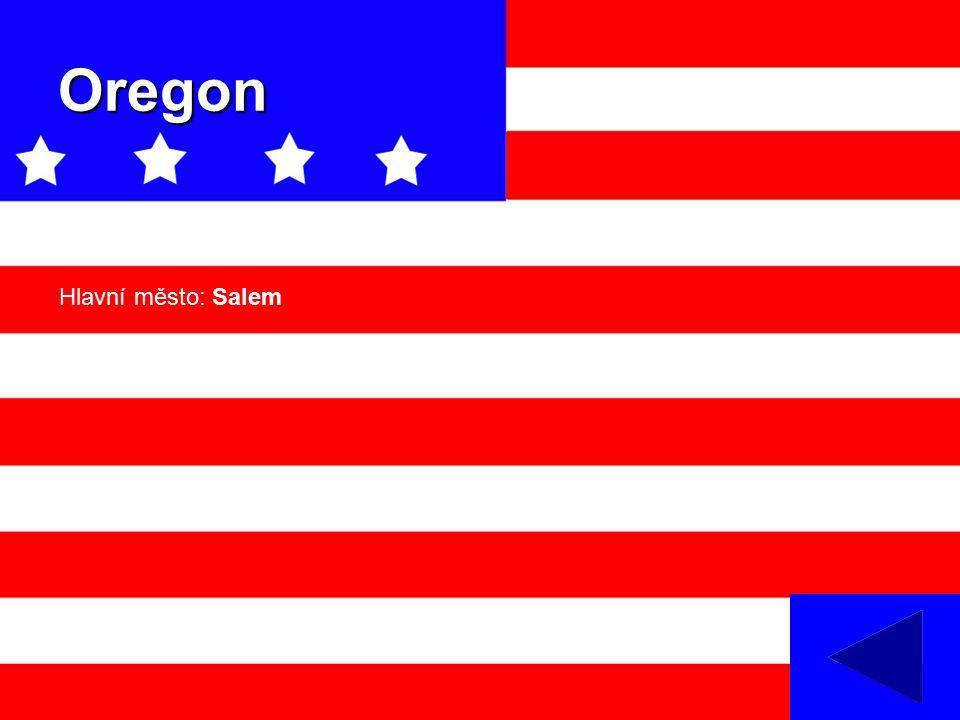 Oregon Hlavní město: Salem