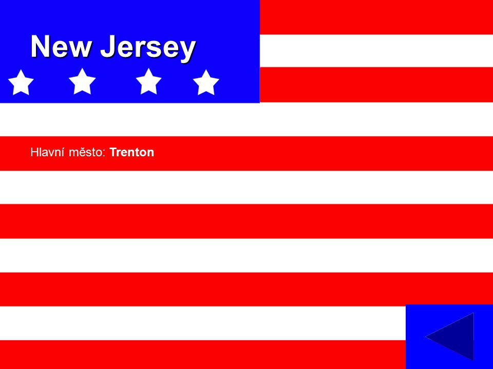 New Jersey Hlavní město: Trenton