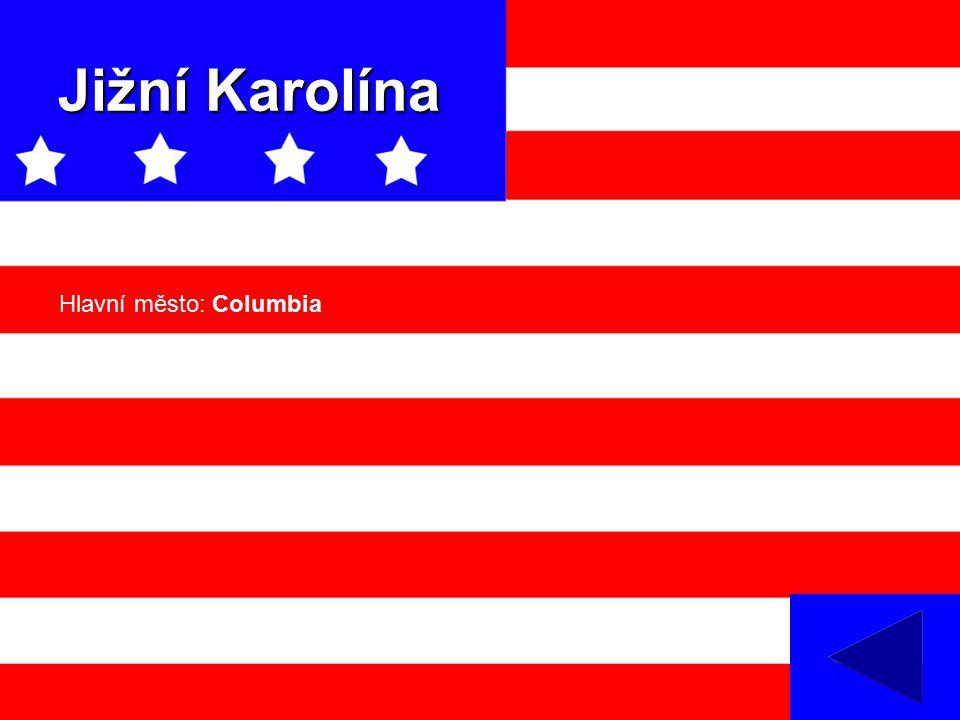 Jižní Karolína Hlavní město: Columbia
