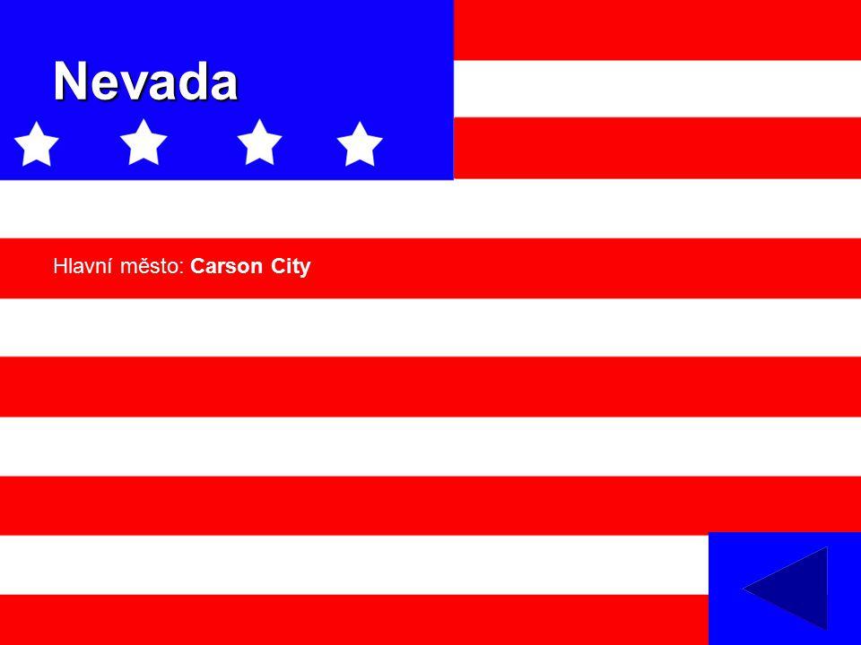 Nevada Hlavní město: Carson City