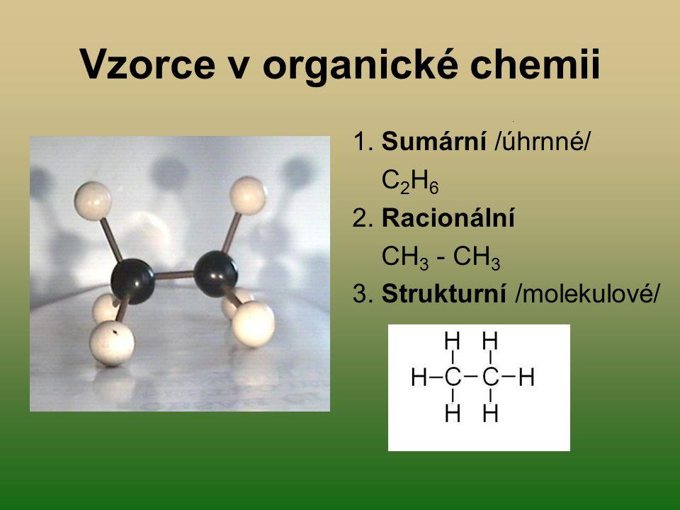 Vzorce v organické chemii