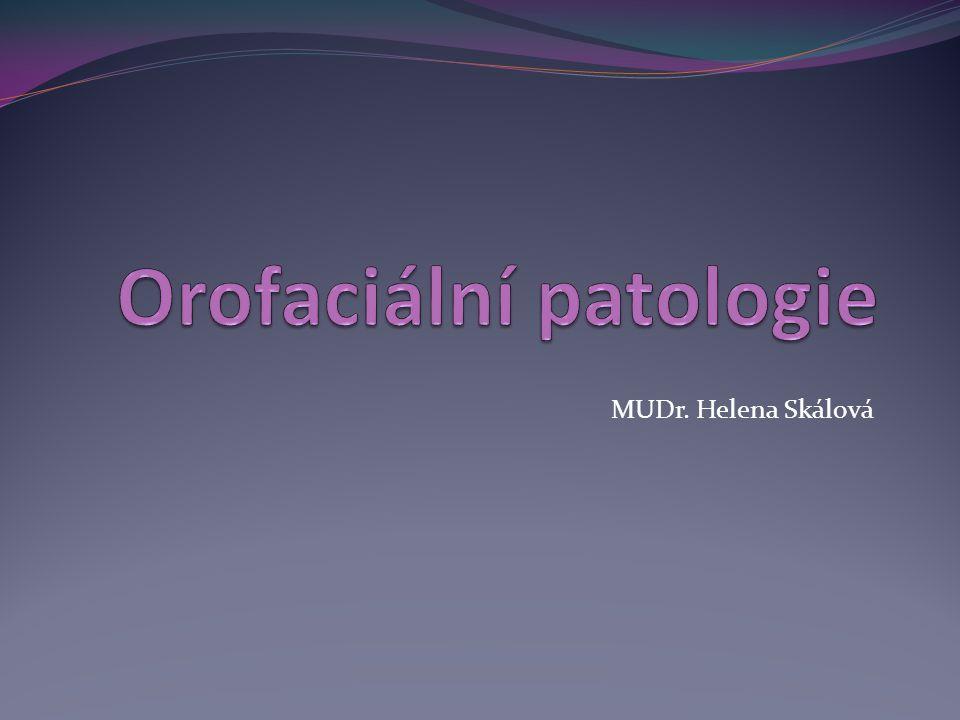 Orofaciální patologie