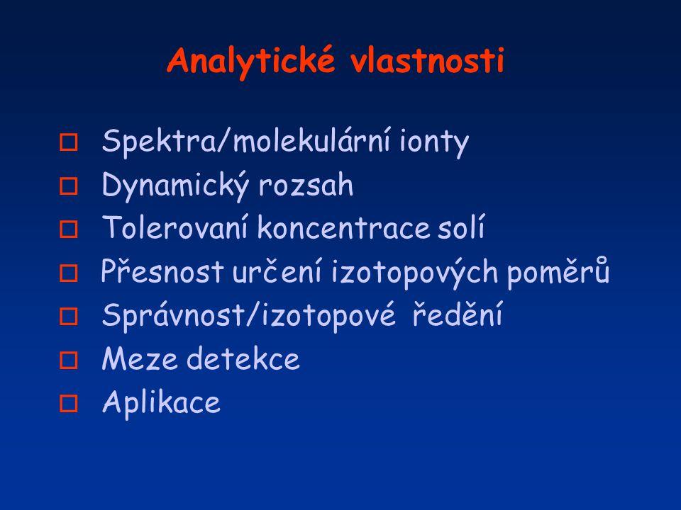 Analytické vlastnosti