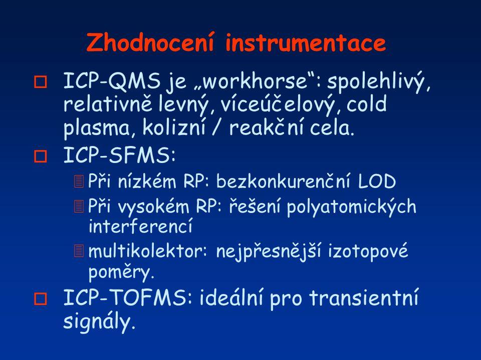 Zhodnocení instrumentace