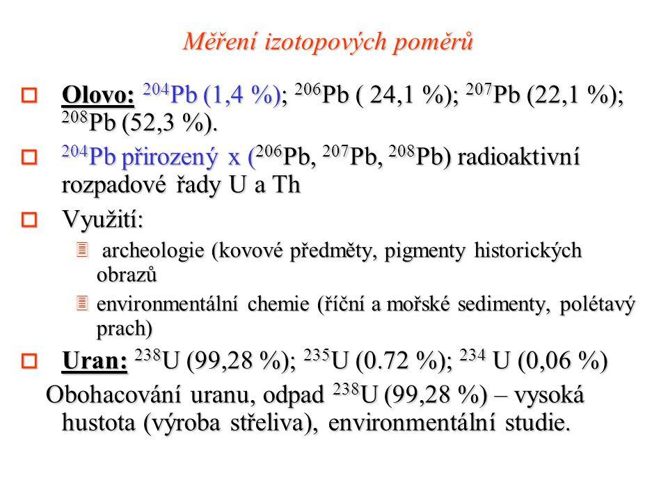 Měření izotopových poměrů