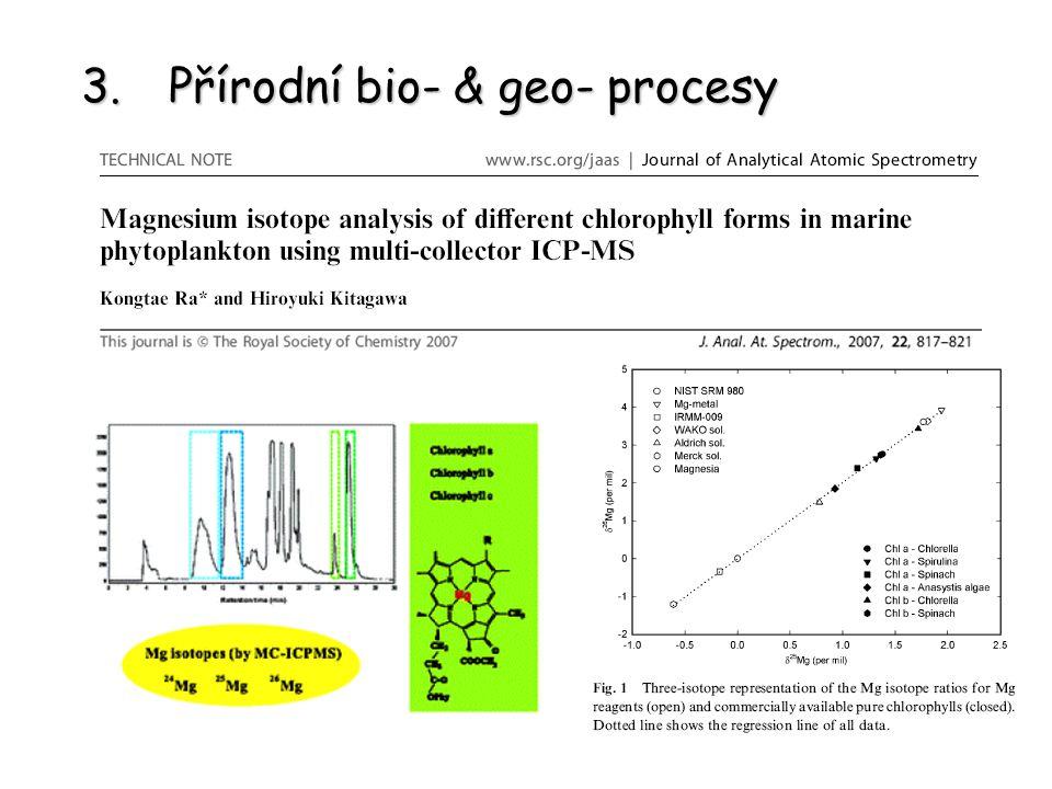 Přírodní bio- & geo- procesy