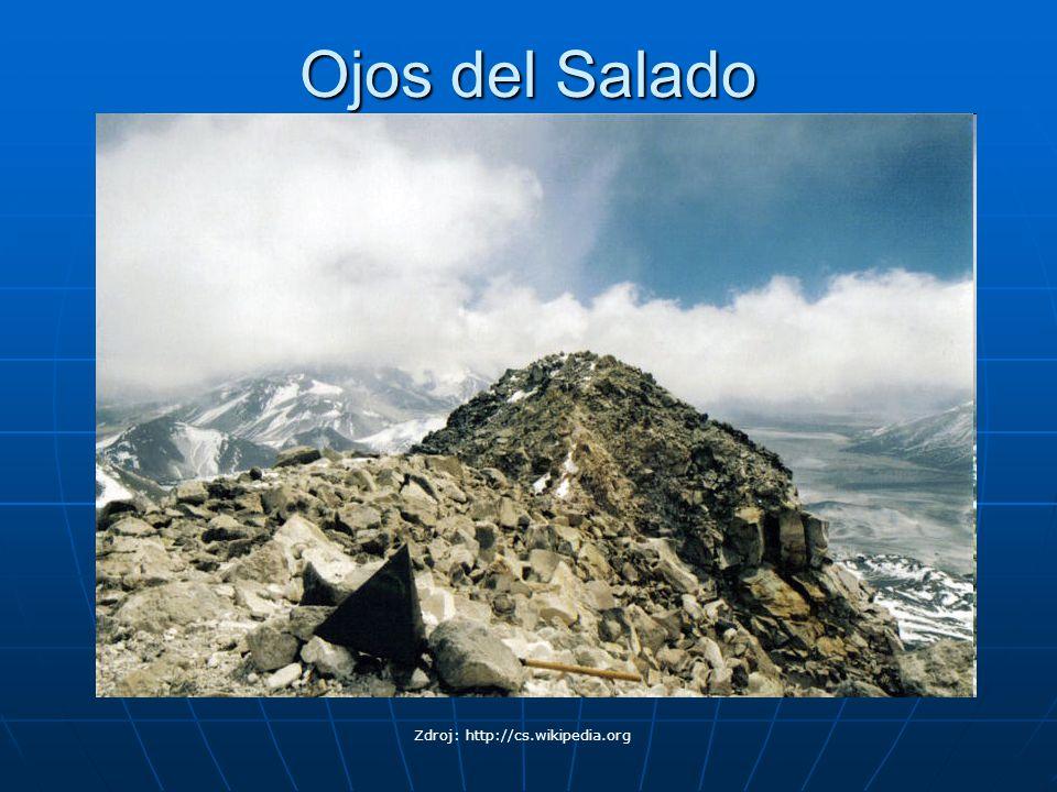 Ojos del Salado Zdroj: Zdroj: http://cs.wikipedia.org