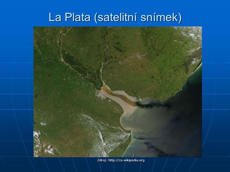 La Plata (satelitní snímek)