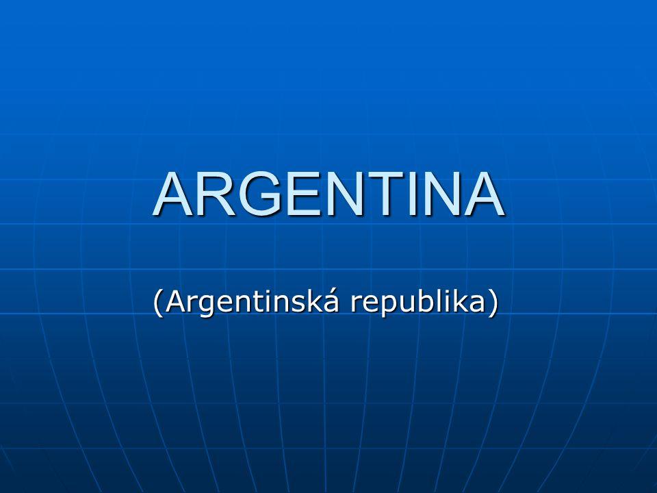 (Argentinská republika)
