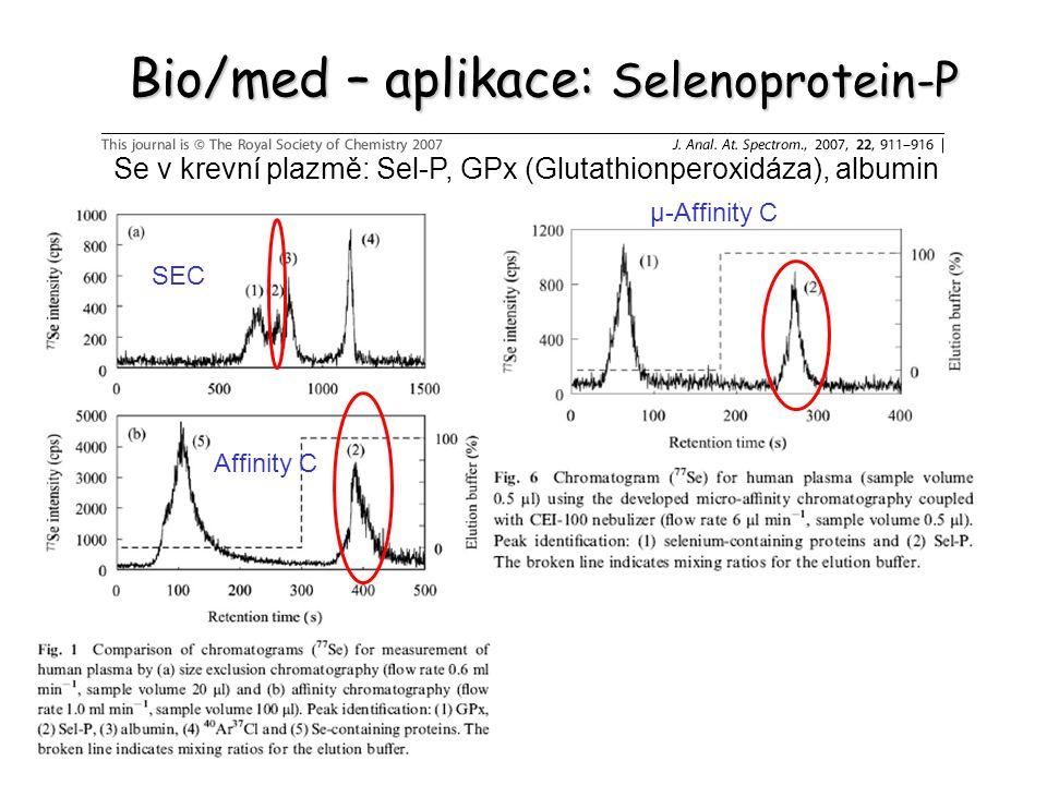 Bio/med – aplikace: Selenoprotein-P
