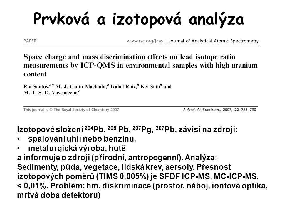 Prvková a izotopová analýza