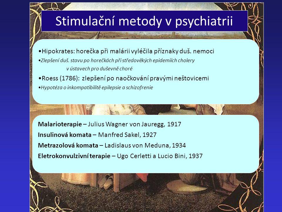 Stimulační metody v psychiatrii