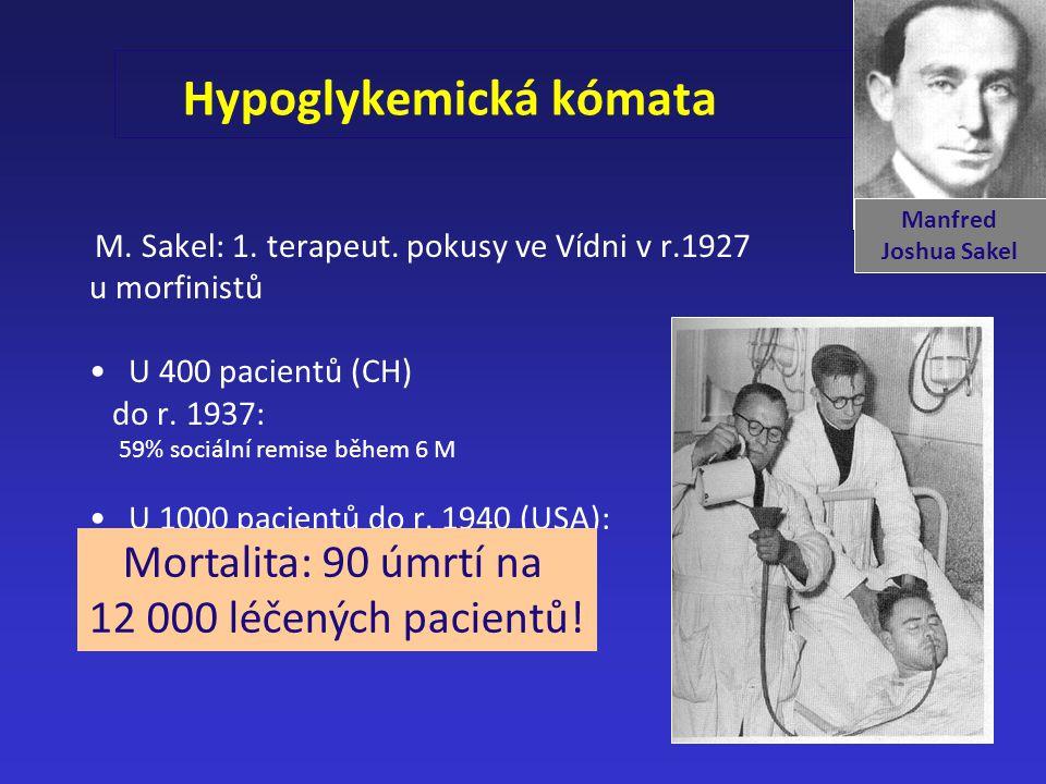 Hypoglykemická kómata