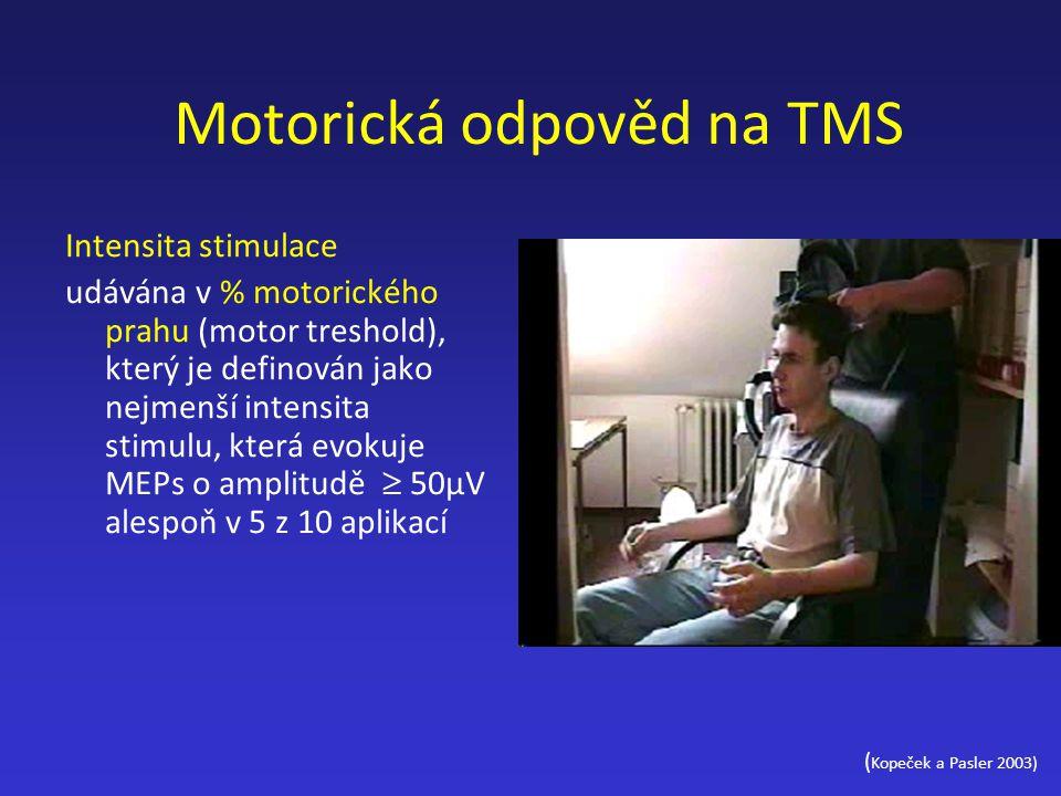 Motorická odpověd na TMS